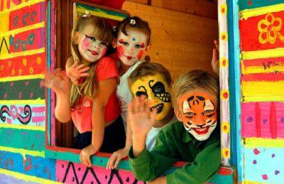Yelloh Village Panorama du Pyla Children's Face Painting