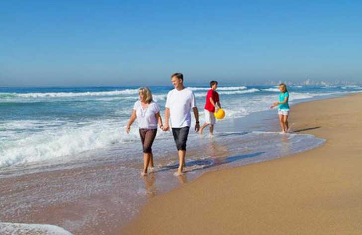 Campeole Medoc Plage Beach Walk