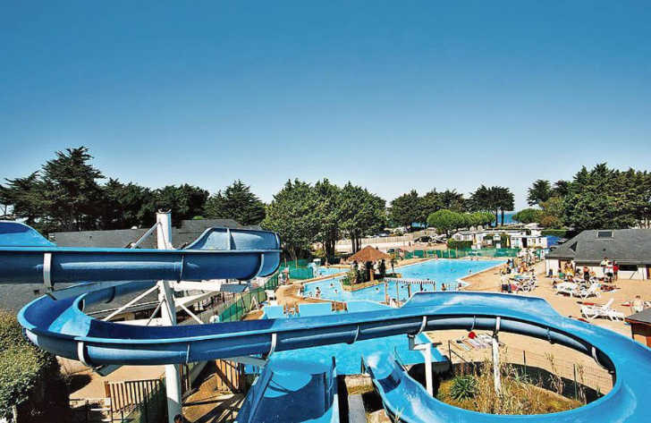 Camping du Conguel Swimming Pool Slides