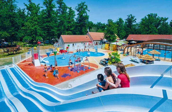 Camping Grande Tortue Pool Slides