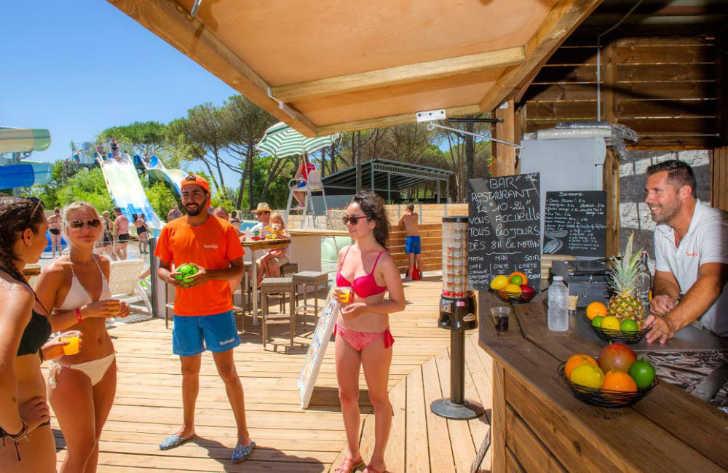 Camping le Castellas Bar Restaurant