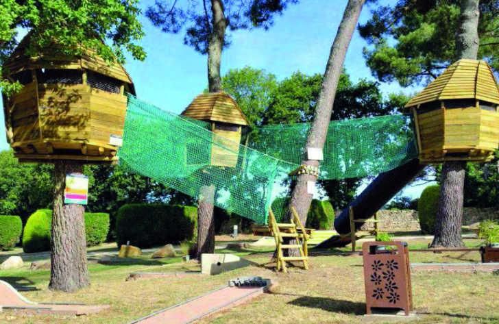 Camping le Moulin de Kermaux Tree Pods