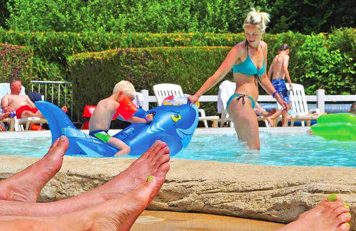 Camping le Val de Bonnal Childrens Pool