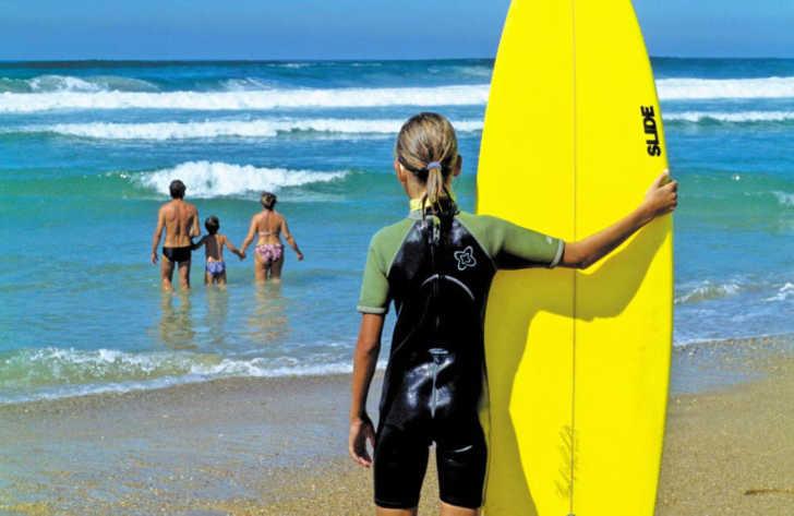 Camping Lou Pignada Ondres Beach Surfing