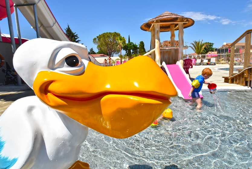Camping Mas des Lavandes Childrens Pool