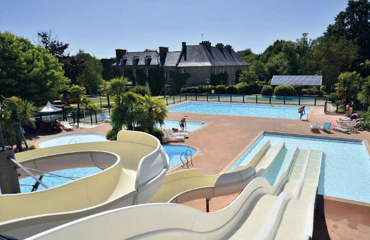 Chateau de Galinee Pool Parc
