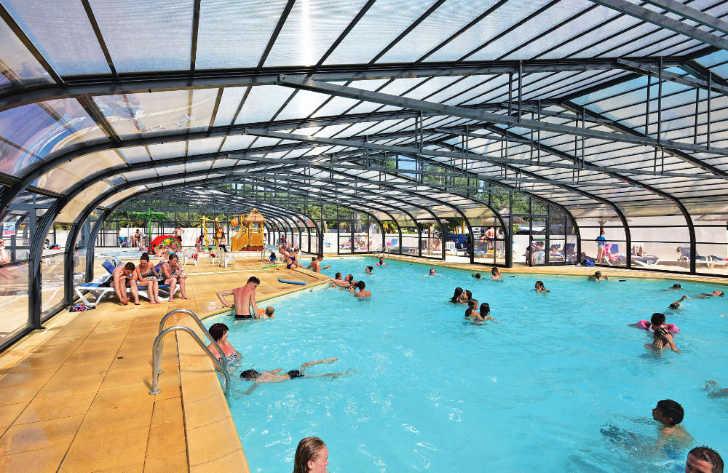 Domaine de la Yole Covered Swimming Pool