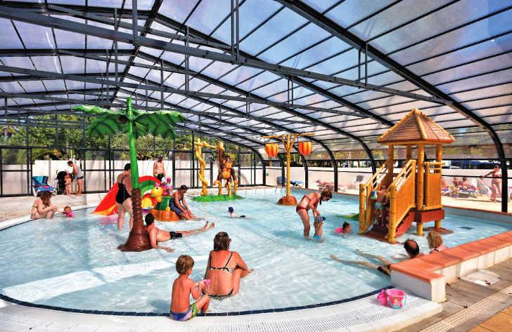 Domaine de la Yole Indoor Swimming Pool