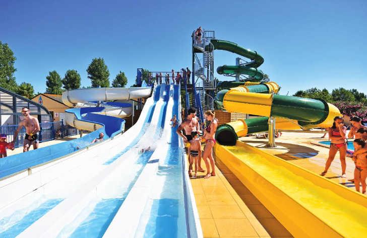 Domaine de la Yole Pool Slides