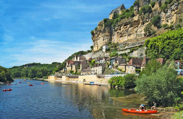 Campsites in Dordogne, France