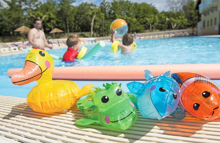 La Bastide en Ardeche Childrens Pool Area