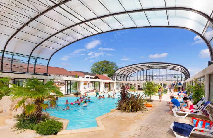 La Croix du Vieux Pont Canvas Holidays Covered Pool