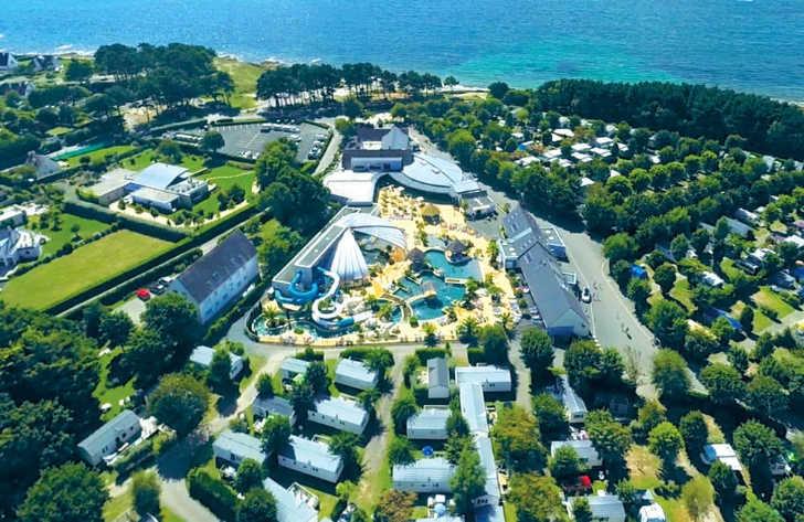 La Pointe St Gilles Ariel Overview