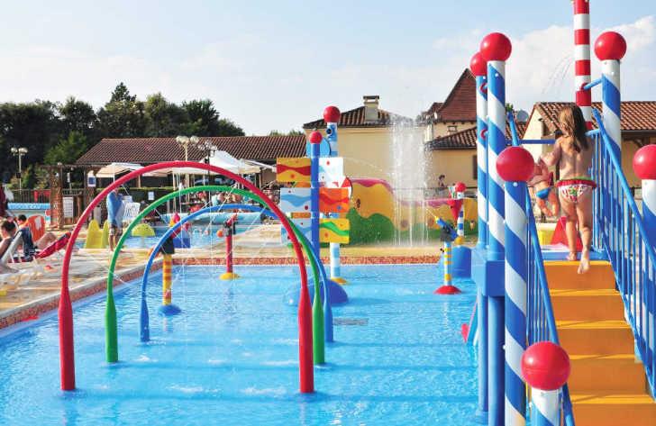 Les Peneyrals Campsite Toddler Pool