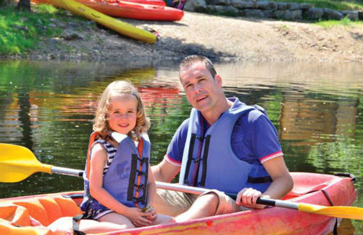 Les Ranchisses Family Fun Kayaking